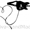 guitar+heart+cable